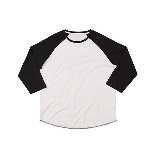Unisex Superstar Baseball T [XXL] (White) (Art.-Nr. CA207566)