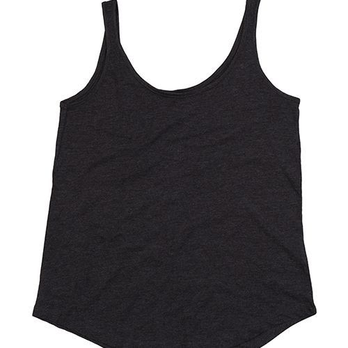Women`s Loose Fit Vest [L] (Charcoal Grey Melange) (Art.-Nr. CA213107)