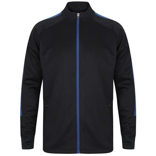 Adults Knitted Tracksuit Top [XXL] (Navy) (Art.-Nr. CA222058)