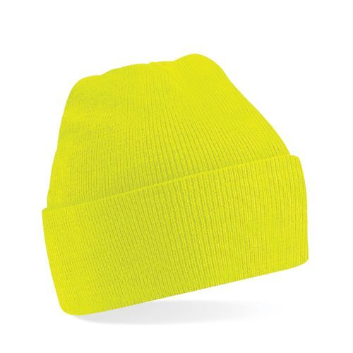 Original Cuffed Beanie [One Size] (fluorescent yellow) (Art.-Nr. CA230162)