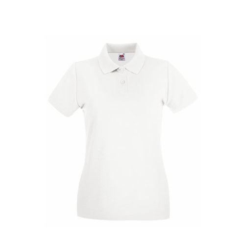 Fruit of the Loom Premium Polo Lady-Fit [XS] (White) (Art.-Nr. CA239516)