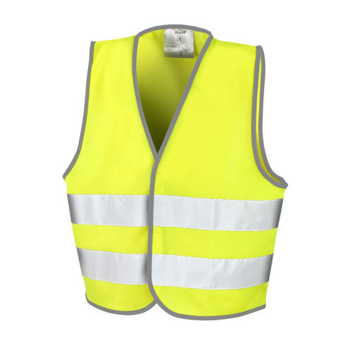 Junior Safety Vest [M (7-9)] (Art.-Nr. CA240751) - EN 1150 Spezifikation | Lässiger Schnit...