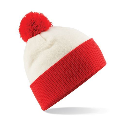Snowstar® Two-Tone Beanie [One Size] (Off white) (Art.-Nr. CA244632)