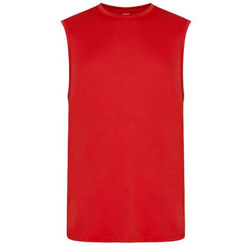 Men`s Cool Smooth Sports Vest [XXL] (Fire red) (Art.-Nr. CA251779)