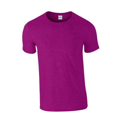 Softstyle® T- Shirt [L] (antique Heliconia (heather)) (Art.-Nr. CA256400)