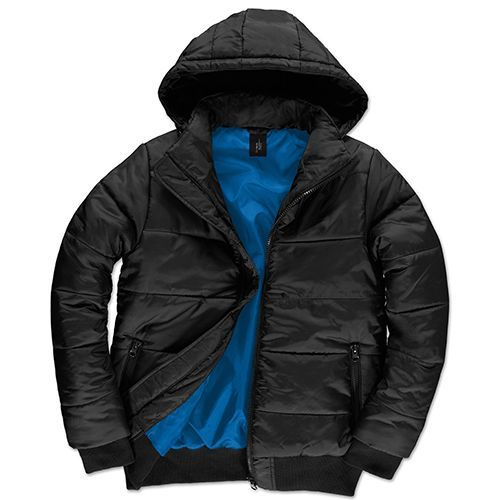 Jacket Superhood /Men [3XL] (black / Cobalt blue) (Art.-Nr. CA256556)