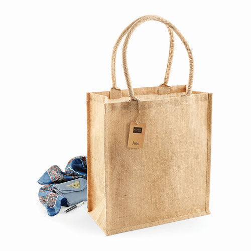 Jute Boutique Shopper [36 x 41 x 17 cm] (Natural) (Art.-Nr. CA257759)