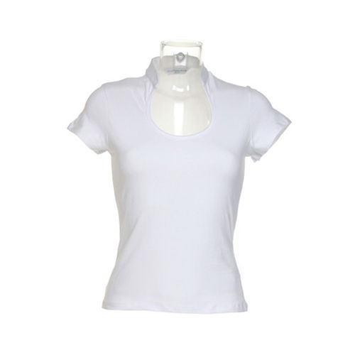 Corporate Top Keyhole Neck [S (8-10)] (White) (Art.-Nr. CA280197)