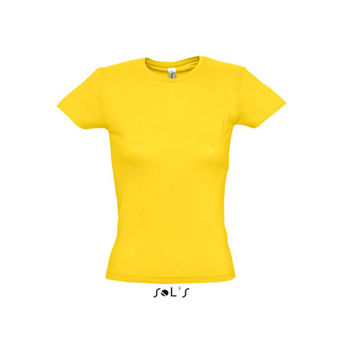 Ladies T-Shirt Miss [L] (gold) (Art.-Nr. CA289354)