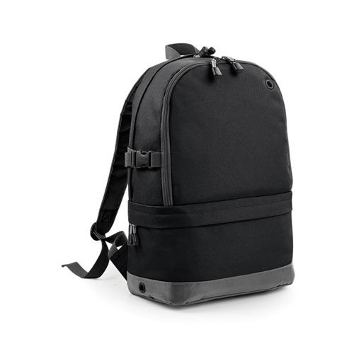 Athleisure Pro Backpack [31 x 44 x 16 cm] (Art.-Nr. CA293949) - 600D/420D Polyester Kombination | Zwei...