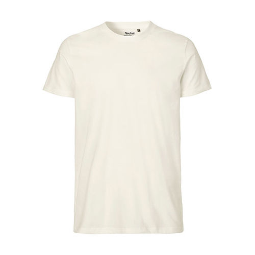 Mens Fitted T-Shirt [L] (natural) (Art.-Nr. CA303852)