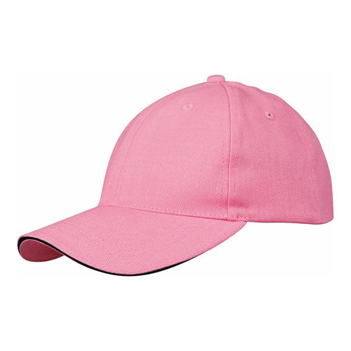 Challenge 6-Panel Sandwich Cap [One Size] (red / Natural) (Art.-Nr. CA313877)