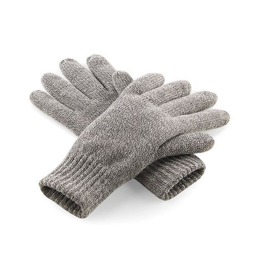 Classic Thinsulate™ Gloves [S/M] (heather grey) (Art.-Nr. CA332911)