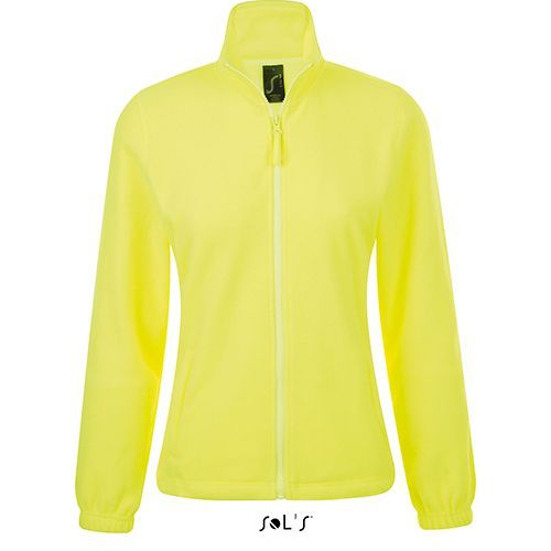 Womens Fleecejacket North [XXL] (neon yellow) (Art.-Nr. CA334404)