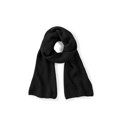 Metro Knitted Scarf [One Size] (Black) (Art.-Nr. CA335649)