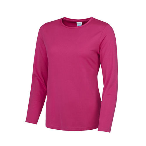 Just Cool Girlie Long Sleeve Cool T [M] (Hot Pink) (Art.-Nr. CA337481)