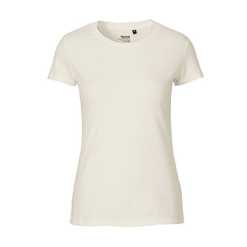 Ladies Fitted T-Shirt [M] (natural) (Art.-Nr. CA355218)