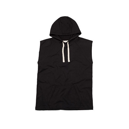 Women`s Oversized Sleeveless Hoodie [L] (Black) (Art.-Nr. CA360025)