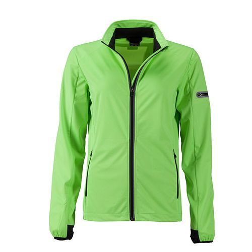 Ladies` Sports Softshell Jacket [XXL] (Art.-Nr. CA365793) - Leichtes, elastisches, 3-lagiges Funktio...