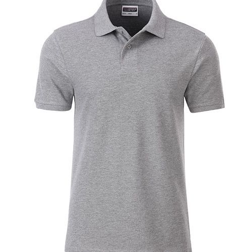 Men´s Basic Polo [XXL] (grey heather) (Art.-Nr. CA375125)