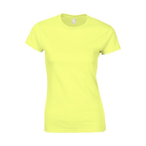 Softstyle® Ladies´ T- Shirt [L] (Cornsilk) (Art.-Nr. CA383787)