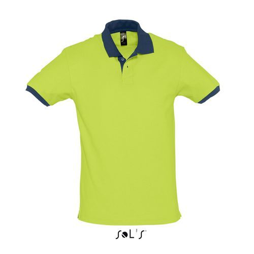 Polo Prince [XS] (Apple green / french navy) (Art.-Nr. CA394136)