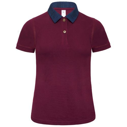 Polo DNM Forward /Women [S] (Denim / Burgundy) (Art.-Nr. CA425624)