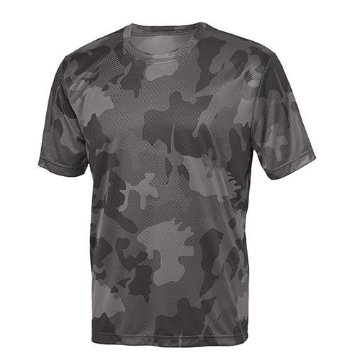 Unisex Performance Short Sleeve Tee [XL] (Sport graphite Laser Camo) (Art.-Nr. CA448908)