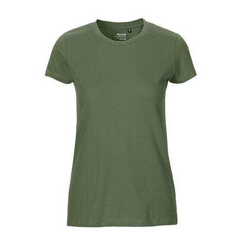 Ladies Fitted T-Shirt [M] (Military) (Art.-Nr. CA450421)