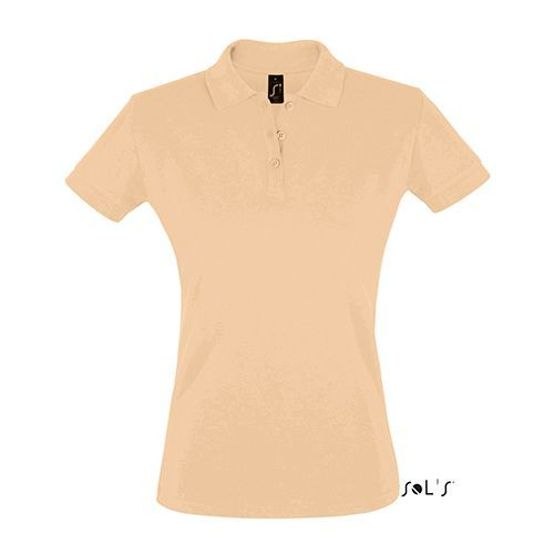Women´s Polo Shirt Perfect [S] (Sand) (Art.-Nr. CA481028)