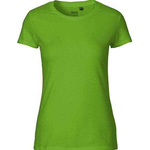 Ladies Fitted T-Shirt [XL] (lime) (Art.-Nr. CA485378)
