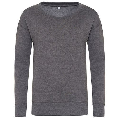 Girlie Fashion Sweat [M] (Charcoal (Heather)) (Art.-Nr. CA503445)