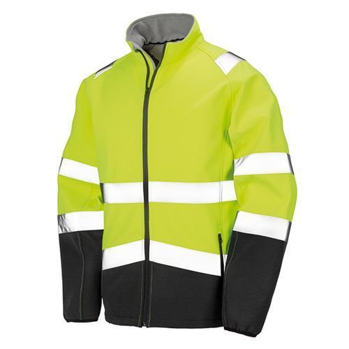 Printable Safety Softshell Jacket [L] (fluorescent yellow) (Art.-Nr. CA505533)