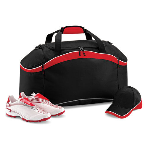 Teamwear Holdall [64 x 35 x 31 cm] (classic red / black / white) (Art.-Nr. CA536207)