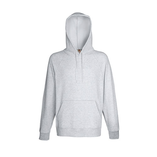 Lightweight Hooded Sweat [L] (heather grey) (Art.-Nr. CA538167)