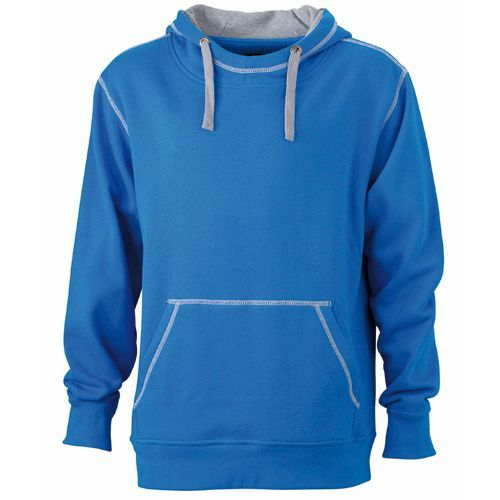 Men`s Lifestyle Hoody [S] (cobalt) (Art.-Nr. CA551871)