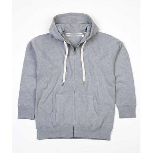 Men`s Superstar Zip-Through Hoodie [S] (Heather Grey Melange) (Art.-Nr. CA555368)