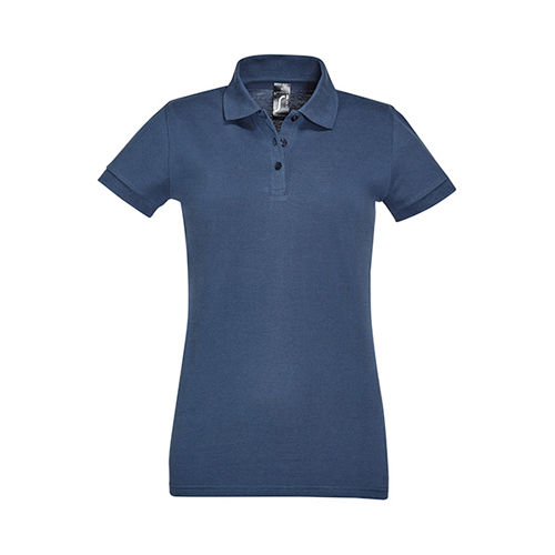 Women´s Polo Shirt Perfect [L] (Denim) (Art.-Nr. CA567307)