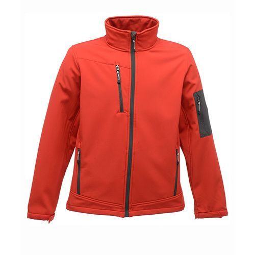 Softshelljacket Arcola [L] (classic red / Seal grey (Solid)) (Art.-Nr. CA568611)