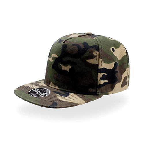 Snap Five Cap [One Size] (camouflage) (Art.-Nr. CA568692)