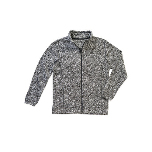 Active Knit Fleece Jacket [S] (dark grey Melange) (Art.-Nr. CA574342)