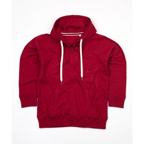 Men`s Superstar Zip-Through Hoodie [S] (Burgundy) (Art.-Nr. CA584462)