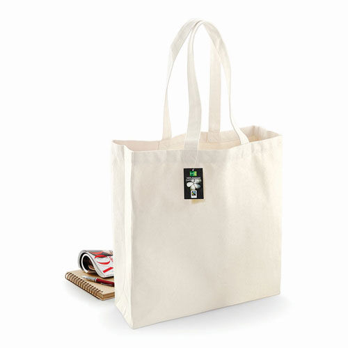 Fairtrade Cotton Classic Shopper [39 x 41 x 14 cm] (Natural) (Art.-Nr. CA591871)