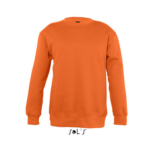 Kids Sweatshirt New Supreme [12 Jahre (142/152)] (orange) (Art.-Nr. CA597977)