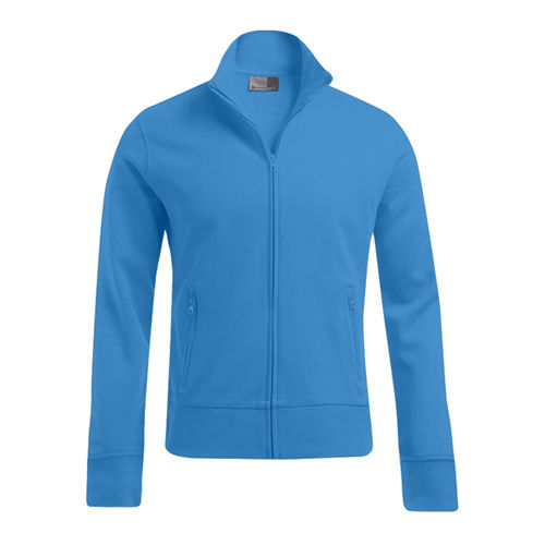 Men´s Jacket Stand-Up Collar [4XL] (Turquoise) (Art.-Nr. CA599187)