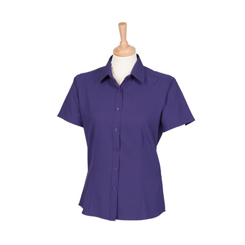 Ladies Wicking Short Sl. Shirt [3XL] (Purple) (Art.-Nr. CA599995)