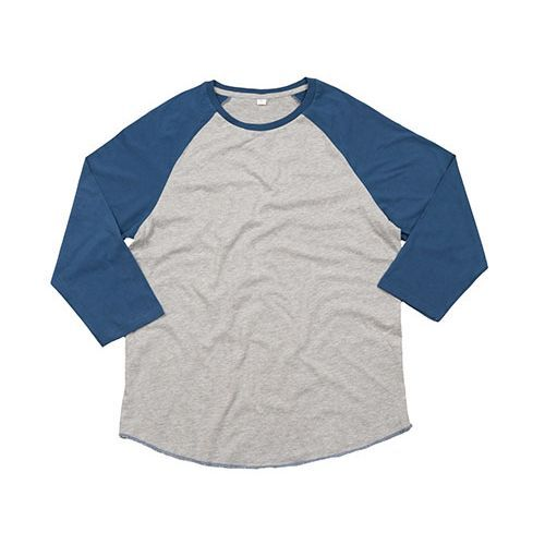 Unisex Superstar Baseball T [M] (Heather Grey Melange) (Art.-Nr. CA601635)