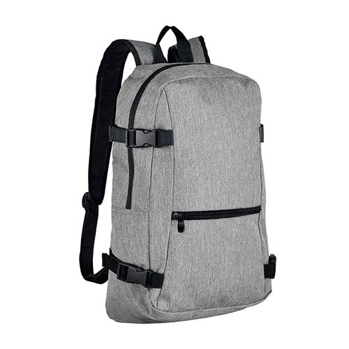 Backpack Wall Street [12,5 x 29 x 45 cm] (grey melange) (Art.-Nr. CA604716)