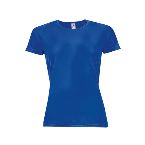 Womens Raglan Sleeves T Sporty [XS] (royal blue) (Art.-Nr. CA608207)