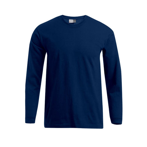 Men`s Premium-T Longsleeve [4XL] (navy) (Art.-Nr. CA622762)